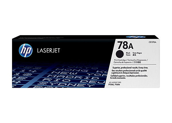HP 78A - black - original - LaserJet - toner cartridge (CE278A)