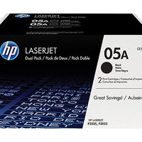 HP 05A - 2-pack - black - original - LaserJet - toner cartridge (CE505D)