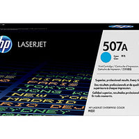 HP 507A - cyan - original - LaserJet - toner cartridge (CE401A)