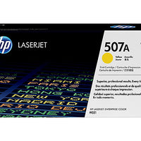 HP 507A - yellow - original - LaserJet - toner cartridge (CE402A)