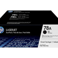 HP 78A - 2-pack - black - original - LaserJet - toner cartridge (CE278D)