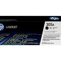 HP 305A - black - original - LaserJet - toner cartridge (CE410A)