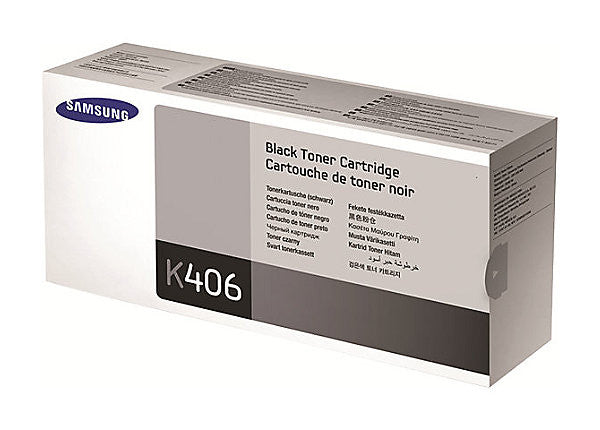 Samsung CLT-K406S - black - original - toner cartridge