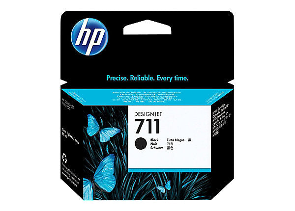 HP 711 - black - original - ink cartridge