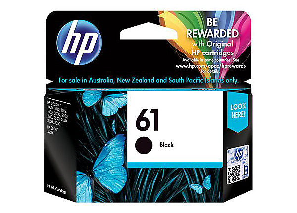 HP 61 - black - original - ink cartridge