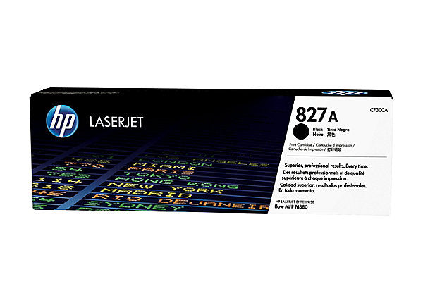 HP 827A - black - original - LaserJet - toner cartridge (CF300A)