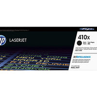 HP 410X - High Yield - black - original - LaserJet - toner cartridge (CF410X)