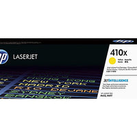 HP 410X - High Yield - yellow - original - LaserJet - toner cartridge (CF412X)