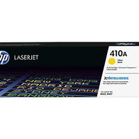 HP 410A - yellow - original - LaserJet - toner cartridge (CF412A)