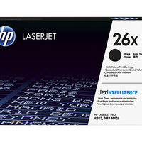 HP 26X - High Yield - black - original - LaserJet - toner cartridge (CF226X)