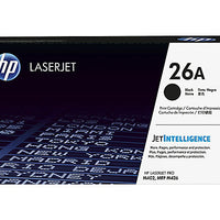 HP 26A - black - original - LaserJet - toner cartridge (CF226A)