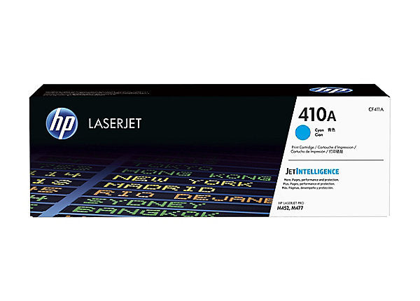 HP 410A - cyan - original - LaserJet - toner cartridge (CF411A)