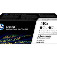 HP 410X - 2-pack - High Yield - black - original - LaserJet - toner cartridge