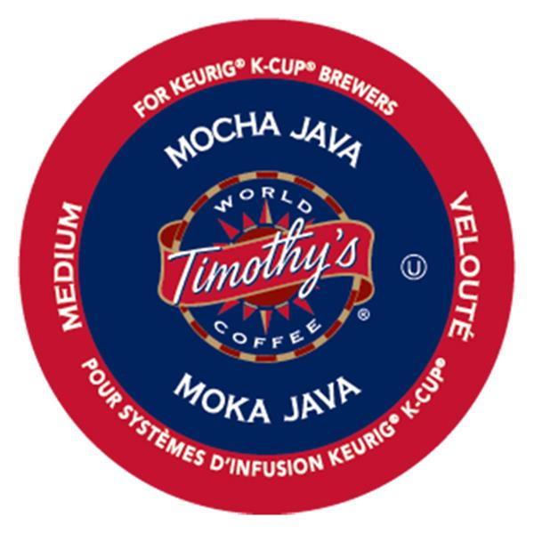 Keurig® Timothy's® Mocha Java - Medium, 24 pods / pack