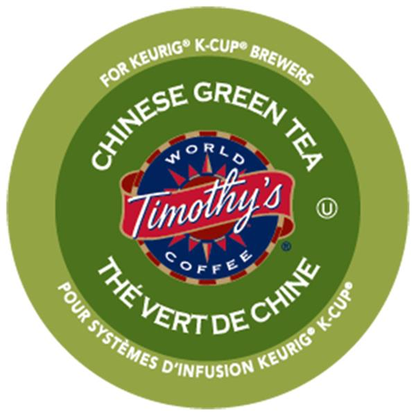 Keurig® Timothy's® Chinese Green Tea, 24 pods / pack