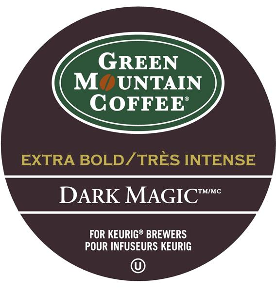 Keurig® Green Mountain® Dark MagicTM - Extra Bold - Dark, 24 pods / pack