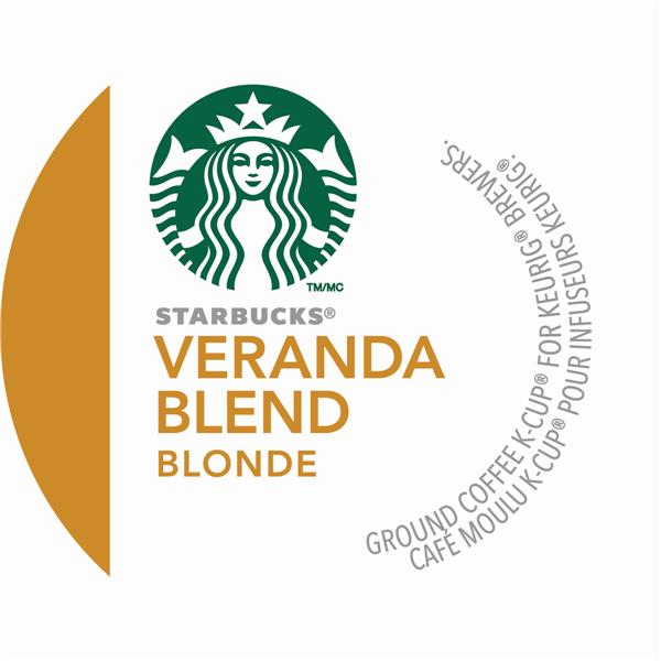 Starbucks® Blonde Veranda Blend® - Medium, 24 pods / pack