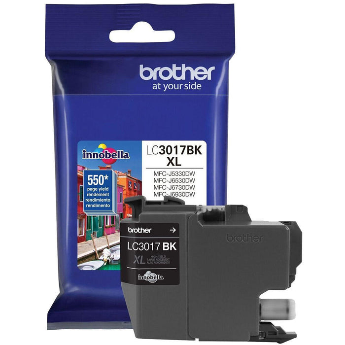 Brother LC3017BK - XL - black - original - ink cartridge