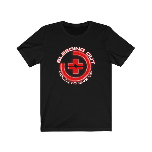 Bleed Out Hold Square T-Shirt
