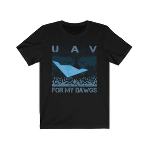 UAV for My Dawgs World Coverage Tee