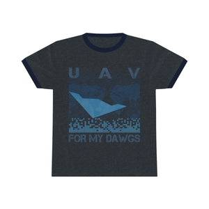 UAV for My Dawgs World Coverage Premium Tee
