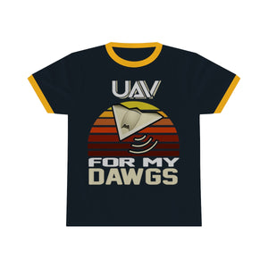 UAV for My Dawgs Sunset Premium Tee