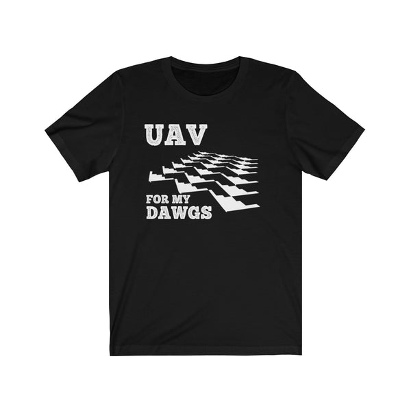 UAV for My Dawgs Back to Back Tee
