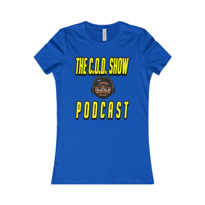 The C.O.D. Show Podcast Womens T-Shirt