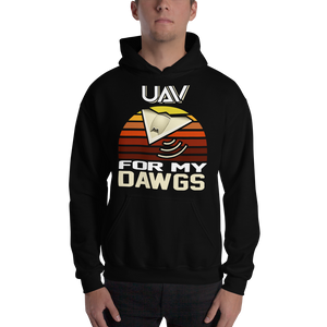 UAV For My Dawgs Sunset Hoodie