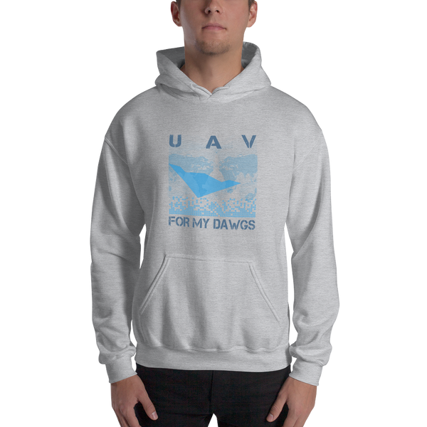UAV For My Dawgs World Wide Hoodie