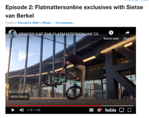 Flatmatters Exclusive with Sietse original trick