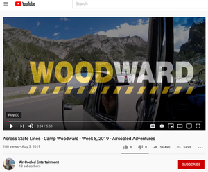 Mat Olson Across State Lines - Camp Woodward - Week 8, 2019 - Aircooled Adventures