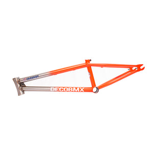 DECO BMX ORANGE RAW FRAME
