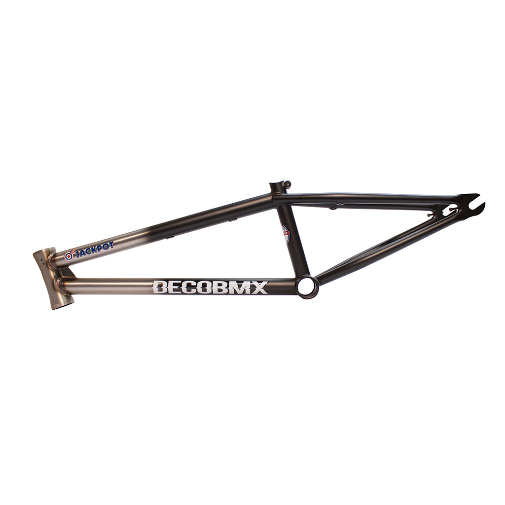 DECO BMX BLACK RAW FRAME