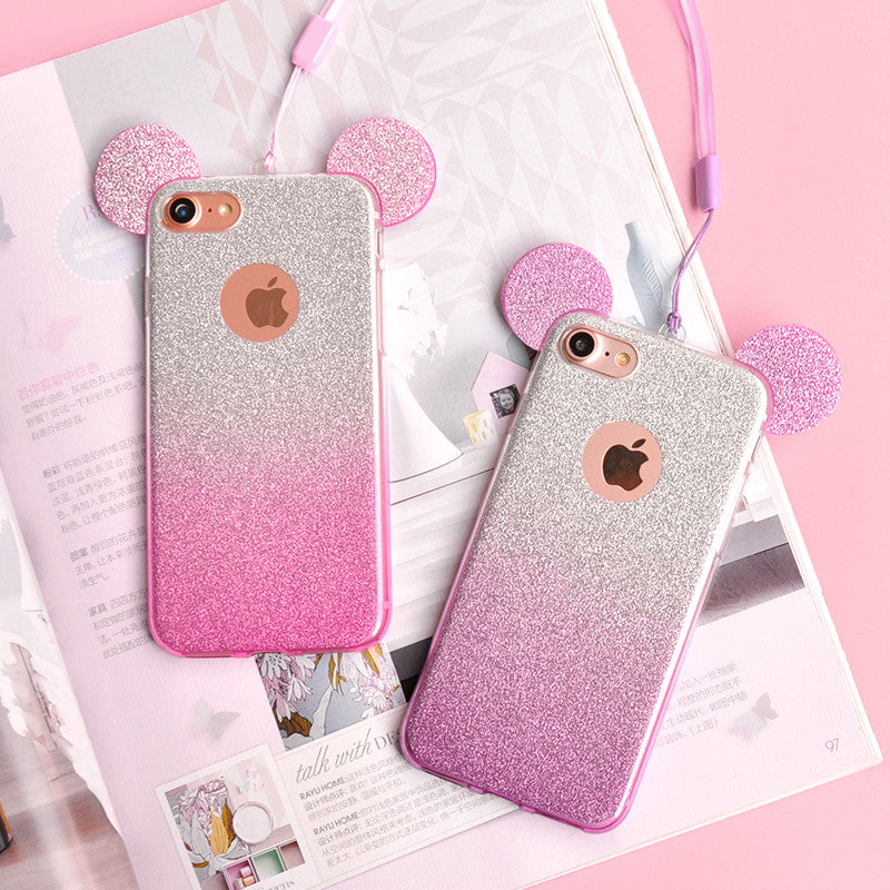 coque iphone 7 plus minnie oreille