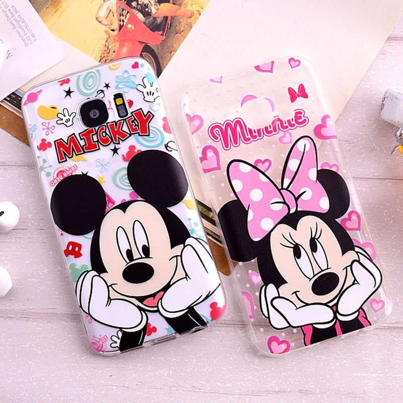 coque samsung s6 edge plus minnie