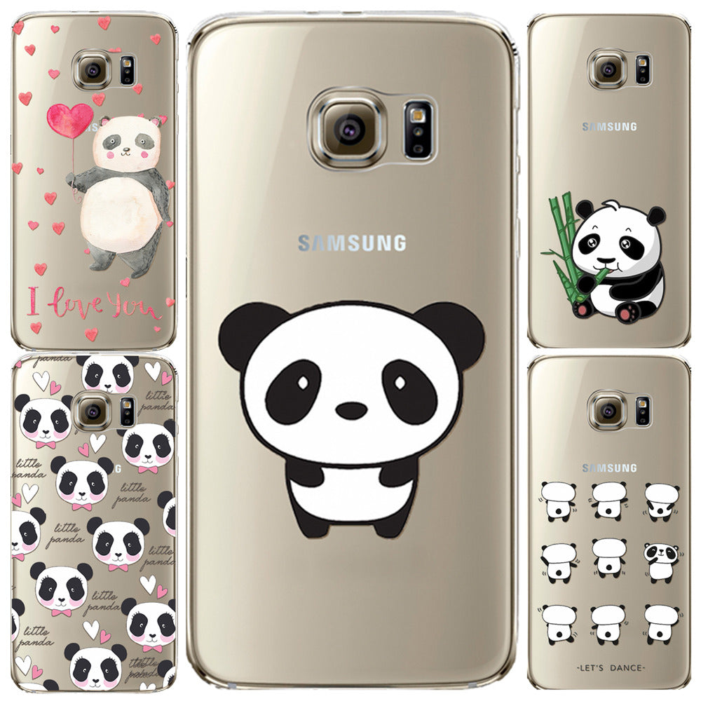 coque panda samsung galaxy s7 edge