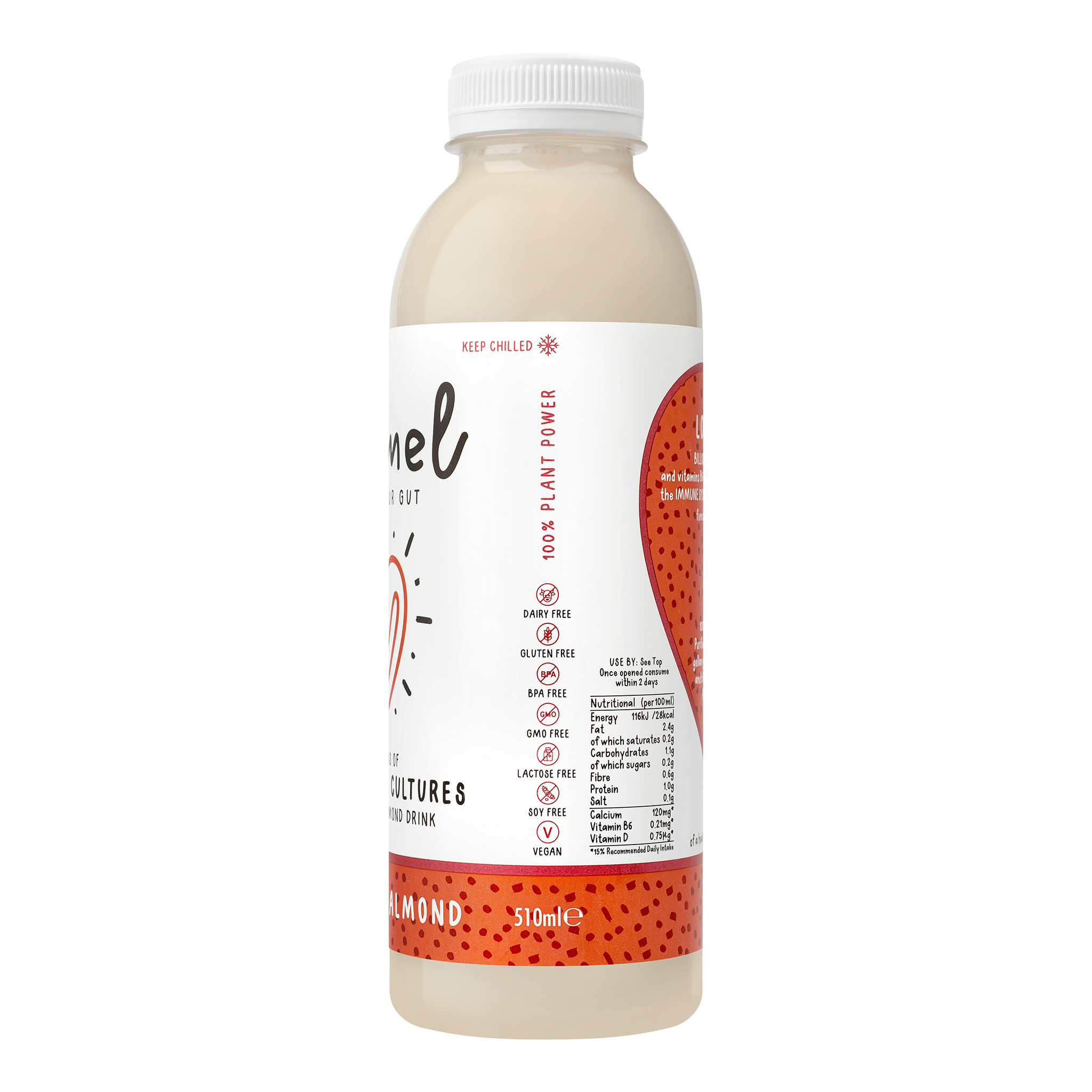 Almond Natural Dairy-free Probiotic Drinks