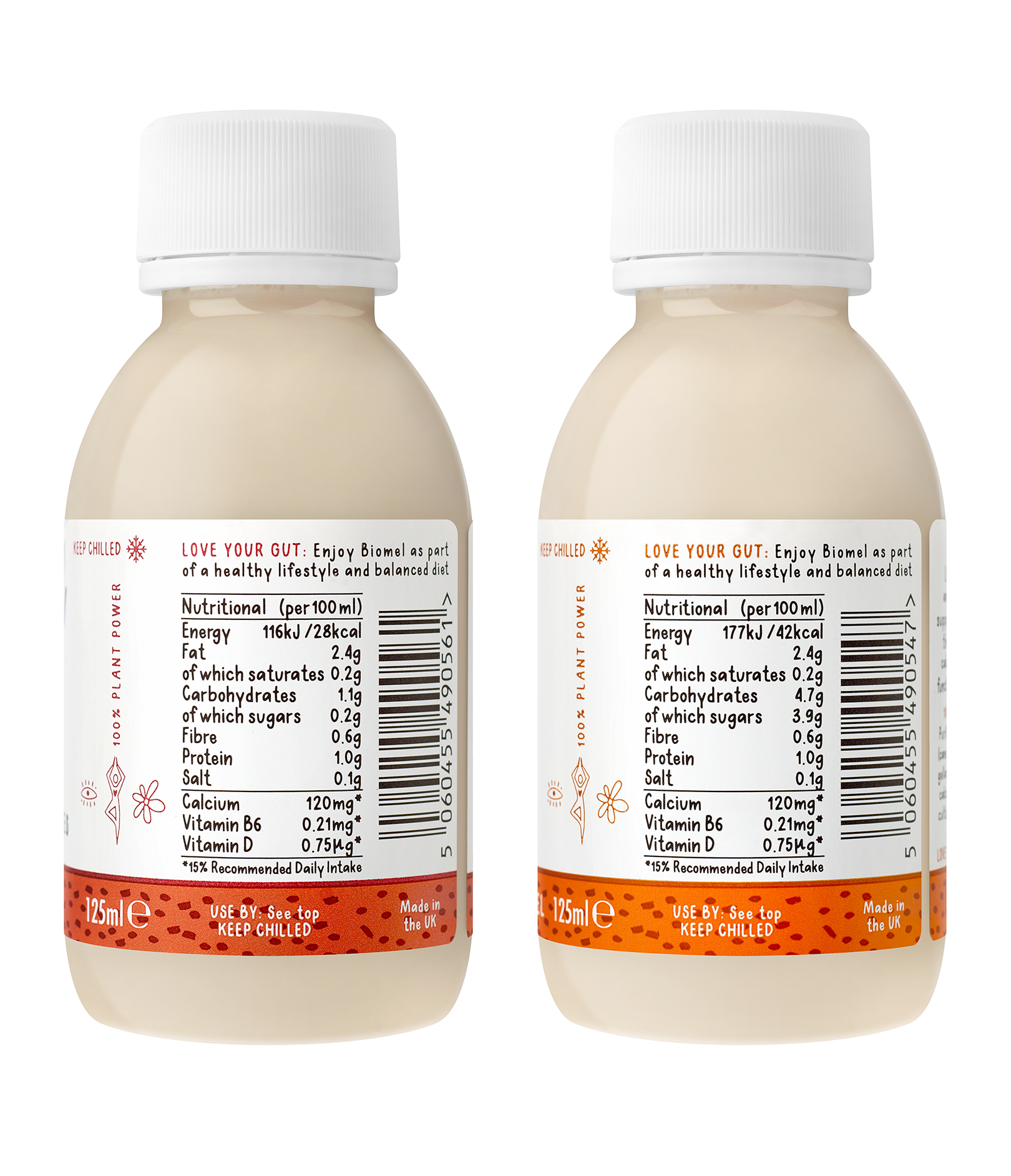 Biomel Almond Probiotic Shots