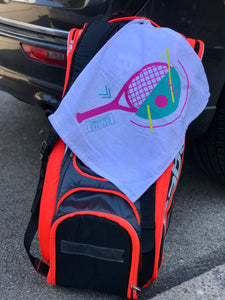 Retro Racquet Bag Towel