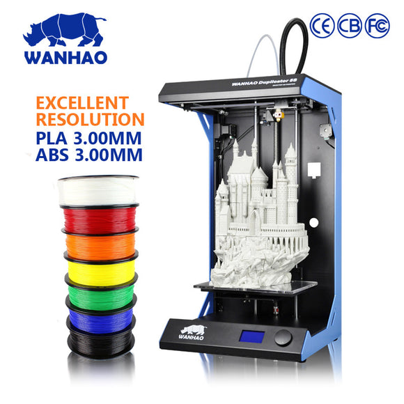 WANHAO Large format high resolution UV flatbed 3d printer