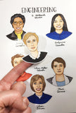 Women Engineers Stickers