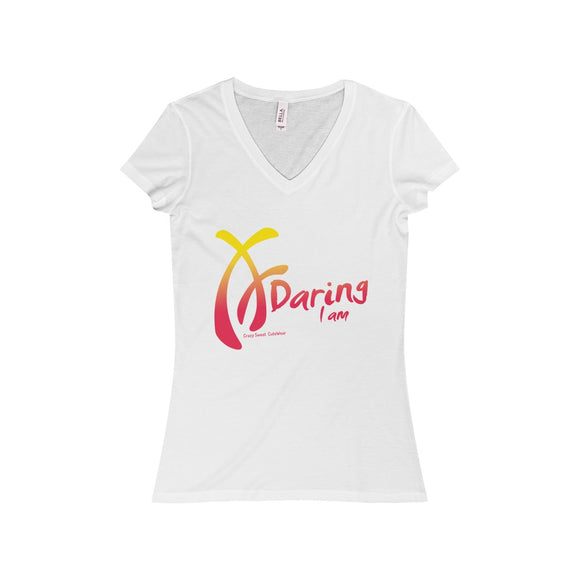 Daring I am, Pink & Yellow on White, Limited Edition