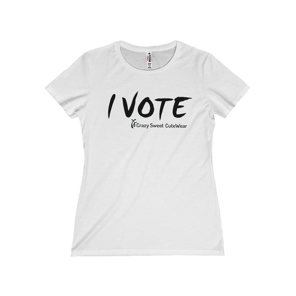 I Vote, XX Power Collection, Black on White, Limited Edition