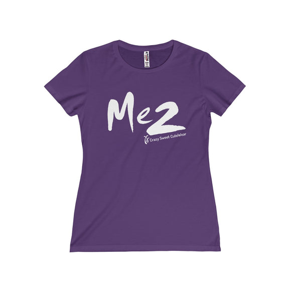 Me 2, XX Power Collection, White on Purple or Charcoal, Limited Edition