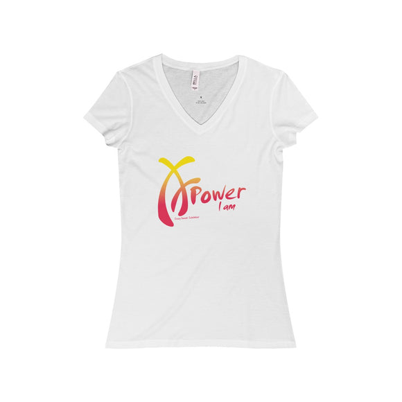 Power I am,  Pink and Yellow on White, Limited Edition