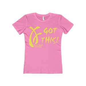 Got This! ... Yellow on Hot Pink or White