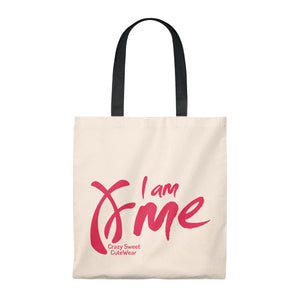 I am Me Collection, Tote Bag in Five Handle Colors!