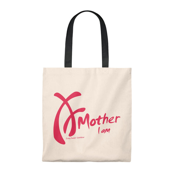 Mother I am Collection, Tote Bag in Five Handle Colors