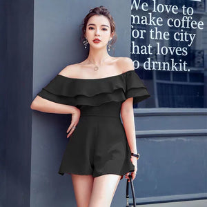 Lauredia Off-Shoulder Romper